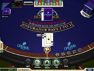 American dreames strip blackjack