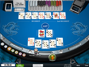 Texas holdem poker online game