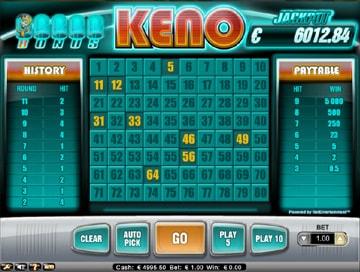 Play Keno For Fun