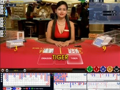 Live Dealer Dragon / Tiger