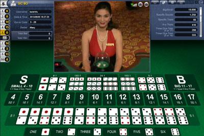 online casino dealer sic bo