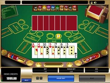Bencb poker